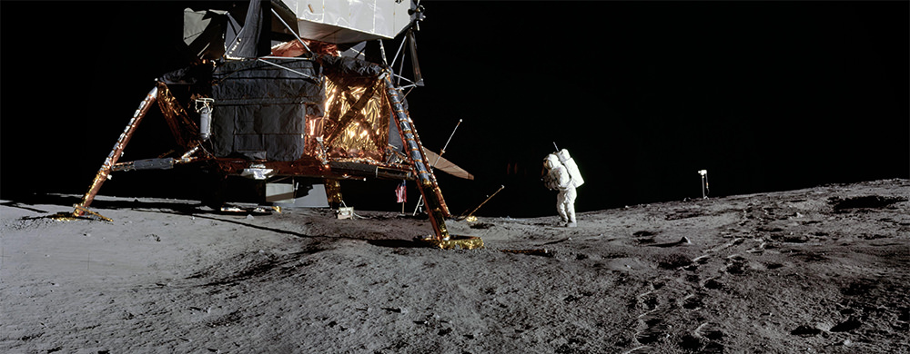 Apollo 12 moon landing