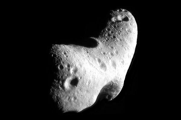 433 Eros, an S-type near-Earth asteroid