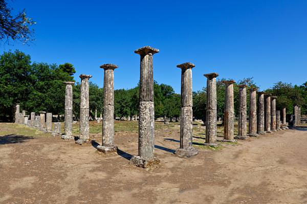 Palaestra monument, Ancient Olympia