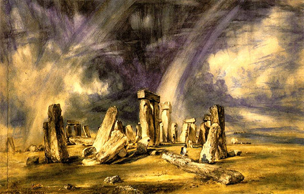 Stonehenge painted in 1835 by John Constable.
