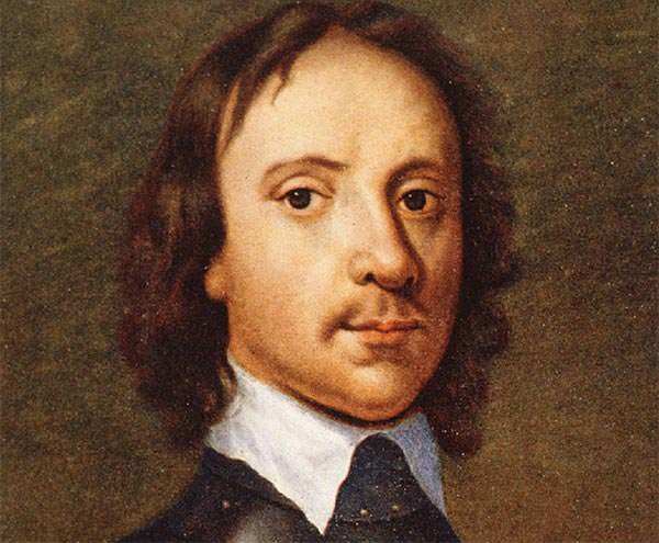 Portrait of the young Oliver Cromwell